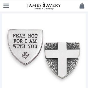 James Avery Accessories - James Avery Fear Not Sterling Silver Pocket Piece